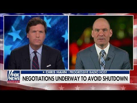 'Does the Wall Work in Israel?': Tucker Battles Dem Radio Host on Border Security Funding