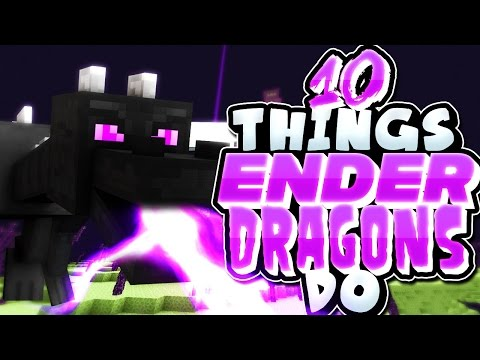 10 Things Ender Dragons Do In Minecraft