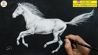 Nasıl At çizilir? How To Draw A Horse?