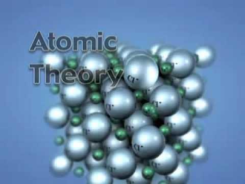 Début du modèle atomique - YouTube
