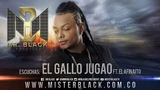 El Gallo Jugao - Mr Black Ft. El Afinaito ®