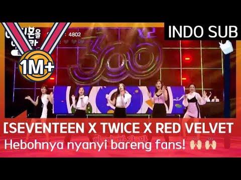 [SEVENTEEN X TWICE X RED VELVET] Hebohnya Nyanyi Bareng Fans Di Studio! SATU STUDIO FANCHANT!