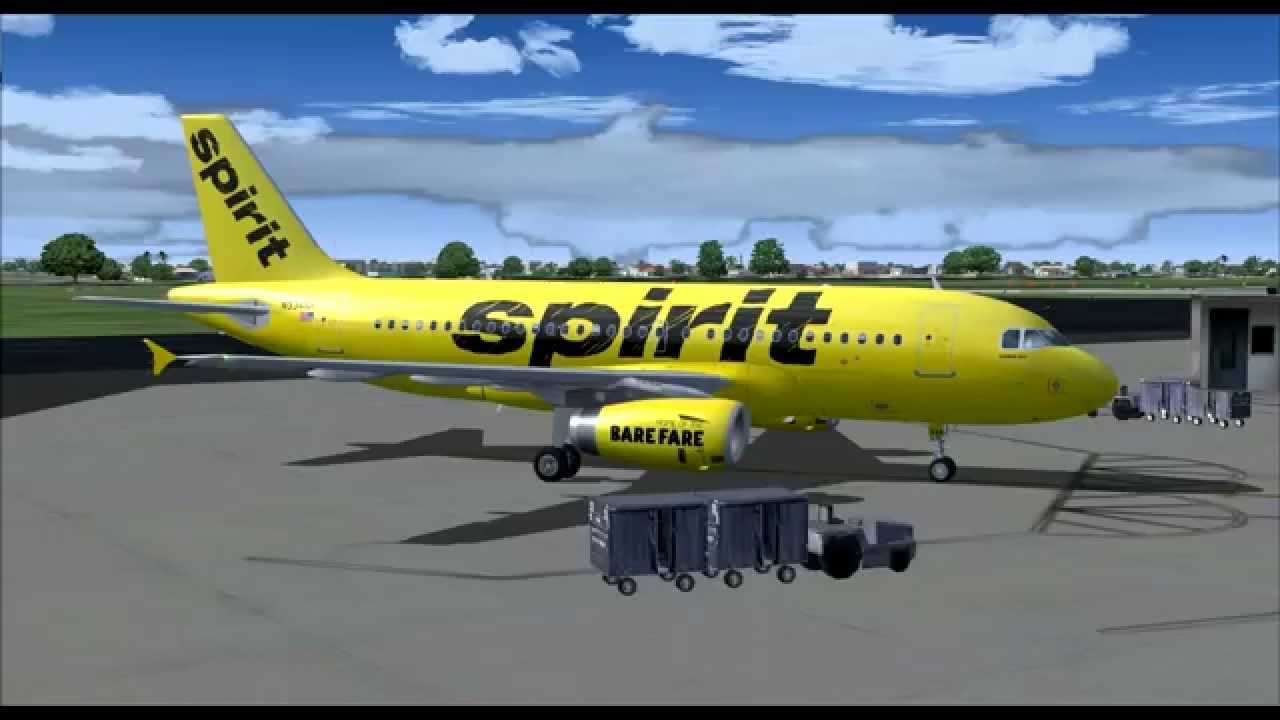 Spirit airlines nk807 a319 100 n534nk fort lauderdale fll for Cheap flights with spirit airlines