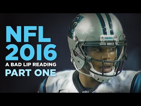 """NFL 2016: Part One"" — A Bad Lip Reading of the NFL"
