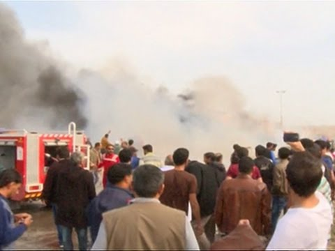 Raw: Car Bombs Explode in Libya