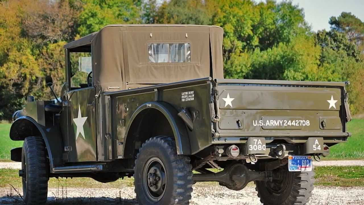 Dodge Power Wagon For Sale >> 1954 M37 Dodge Powerwogon / SOLD - YouTube