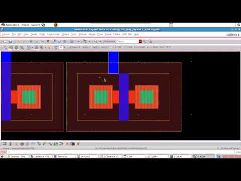 Cadence tutorial - Layout of CMOS NOR gate