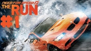 Need For Speed: The Run - Walkthrough - Part 1 - West Coast (PC) [HD]