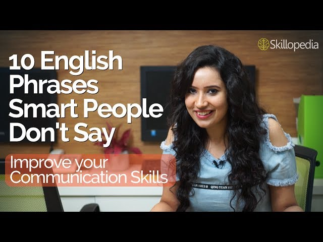 Improve Public speaking & Communication Skills