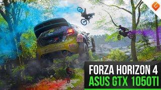 Forza Horizon 4 on Ryzen 1500X & Nvidia GTX1050 Ti