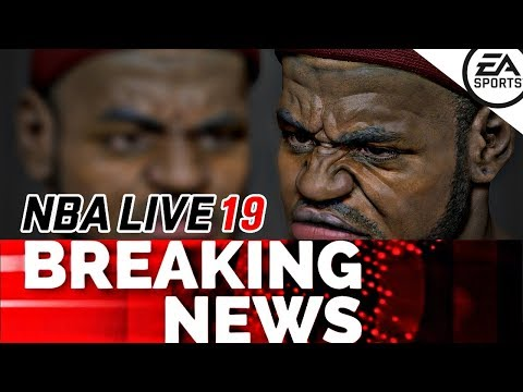 BREAKING NEWS: NBA LIVE 19 FROSTBITE ENGINE DELAYED BUT BATTLES AGAINST NBA2K19