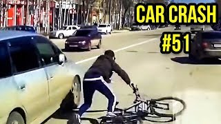 Road Rage Accident Caught on Tape #51 - Terrible Car Accident