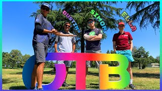 THE CRUSH BOYS REUNITED! Plus NEW CRUSH GIRL?! (OTB Open Practice Round W/Team Uplay Disc Golf)