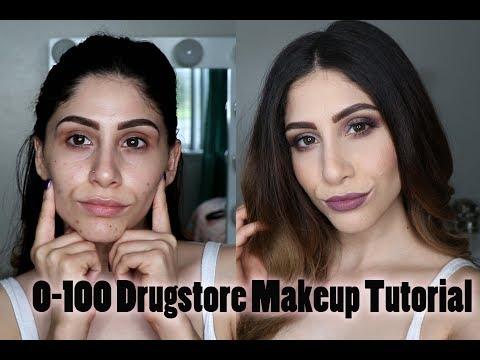 Full Face Using Drugstore Makeup   Makeup Tutorial ♡