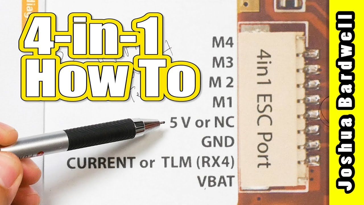 hight resolution of how to connect a 4 in 1 esc to fc heliospring dalrc engine