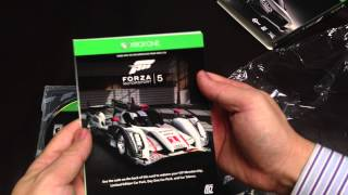 Forza Motorsport 5 Limited Edition Unboxing