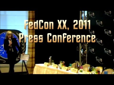 FedCon XX - 2011 Press Conference (full length)