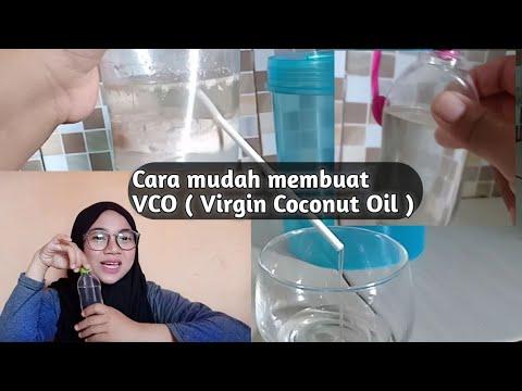 VIRGIN COCONUT OIL HOME MADE
