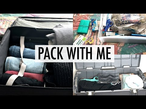 PACK WITH ME | College Move-In Edition 2017