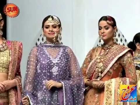Bridal Couture Week 2017 Bridal collections. Karachi