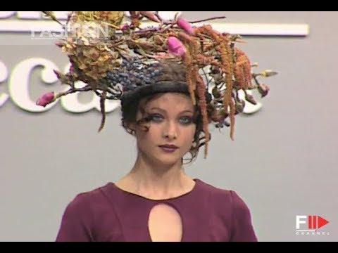 LUISA BECCARIA Fall Winter 1997 1998 Milan - Fashion Channel