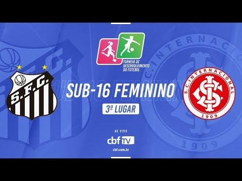 Santos x Internacional - 3º lugar Sub-16 Feminino - Liga de Desenvolvimento 2018