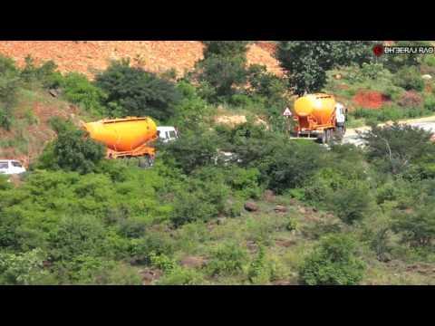 TATA 8x2 Bulk Cement Trucks climb the Makali Ghats