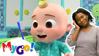 Yes Yes Bedtime Song +More | MyGo! Sign Language For Kids | CoComelon - Nursery Rhymes | ASL