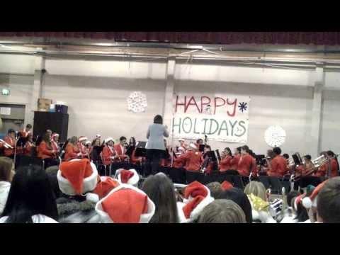Joseph Kerr Middle School Winter Concert, Concert Band