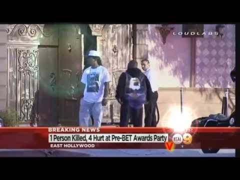 Shooting at BET Awards 2014~ Pre Show Party