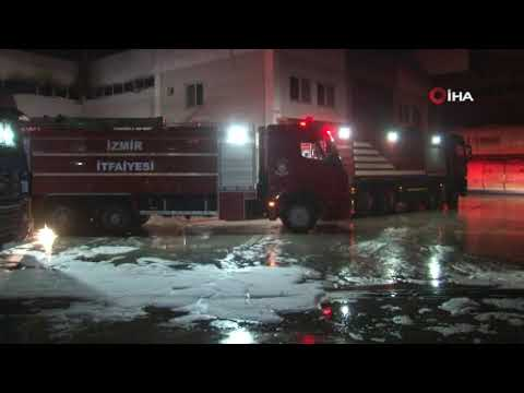 Varil fabrikasında korkutan patlama