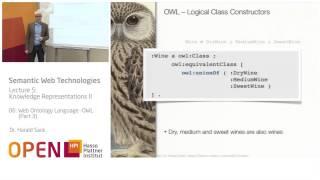 05 - 06 Web Ontology Language - OWL (3)