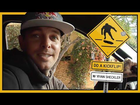 DO A KICKFLIP! With Ryan Sheckler