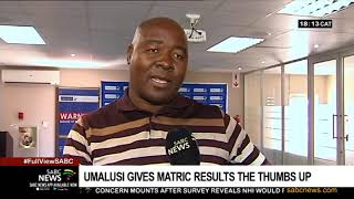 2019 Matric results given green light