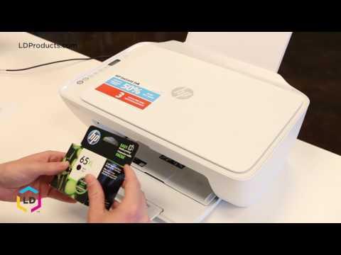 Setup of HP DeskJet 3752 Wireless All-in-One Compact Pr ...