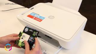 How To Replace Ink Cartridges In The Hp® Deskjet 2652 And Deskjet 2655