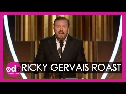 SAVAGE! Ricky Gervais Roasts Hollywood In Golden Globes Monologue
