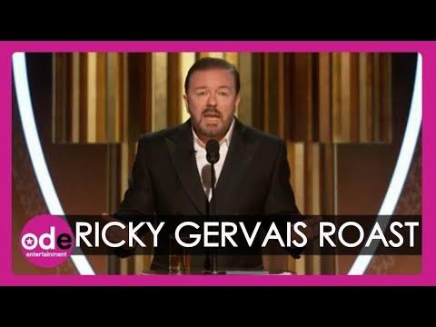 Logan & Lewis - Ricky Gerbais At The Golden Globes