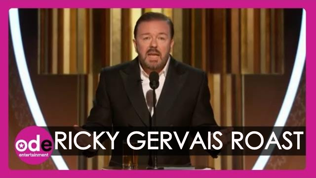 Ricky Gervais roasts Hollywood 2020