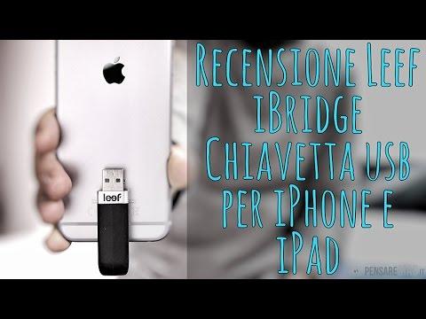 Recensione Leef iBridge, la migliore chiavetta Usb per iPhone e iPad