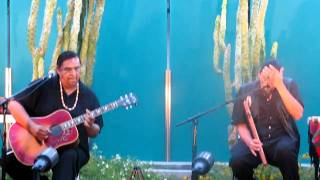 Little Wing on Native American Flute/Acoustic Guitar. Aaron White/Anthony Wakeman