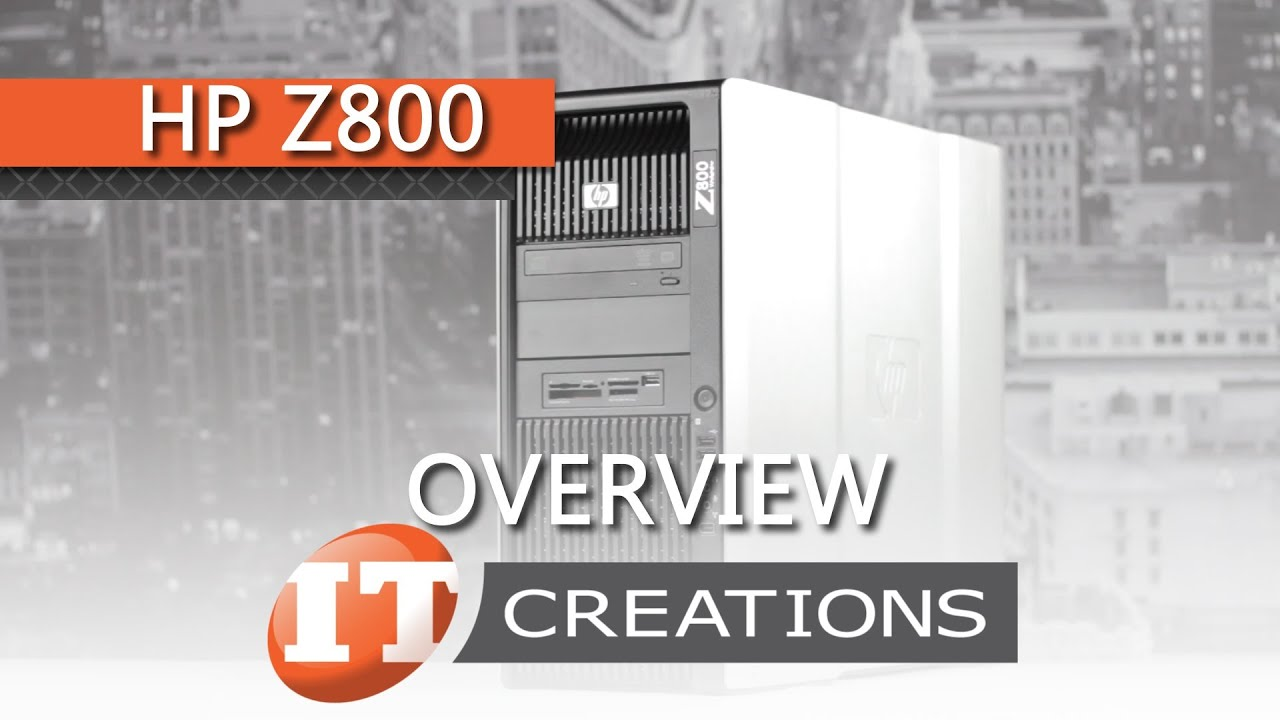 HP Z800 Computer Workstation Review - Videomaker
