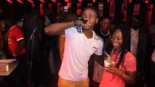 Kiss Daniel Performing Woju at Timaya Industry Night