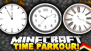 Minecraft - TIME RACE PARKOUR! #1 w/ The Pack