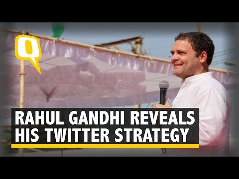 """I Write My Own Political Tweets,"" Says Rahul Gandhi in Gujarat  