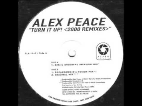Alex Peace  Turn It Up 2000