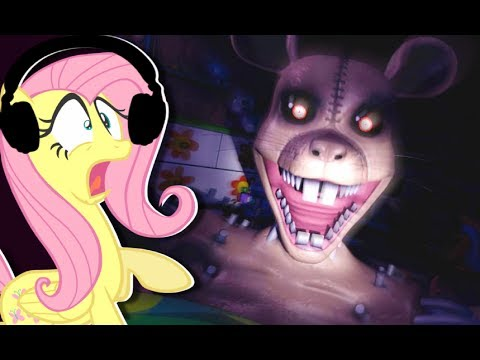 Fluttershy plays Five Nights at Candy's 3