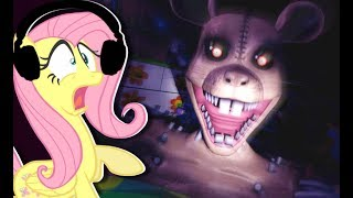 Fluttershy plays Five Nights at Candy's 3 🍉 | TOM AND JERRY?!