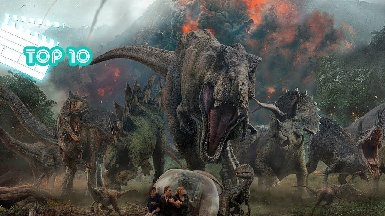 Top 10 Filmes de Dinossauro - YouTube