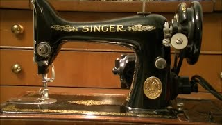 The 1950 Singer Sewing Machine